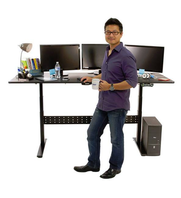 elevate your work - Standing Computer Desk