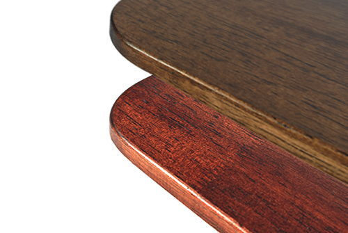 rubberwood desk top